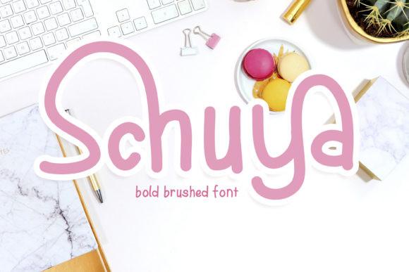 Schuya Font