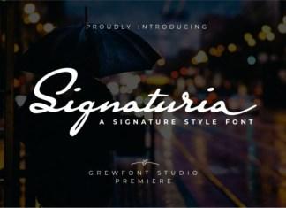 Signaturia Font