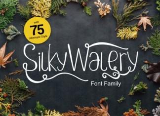 Silkywalery Font