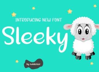 Sleeky Font