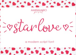 Star Love Font