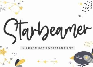 Starbeamer Font