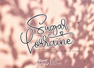 Sugar Lorraine Font