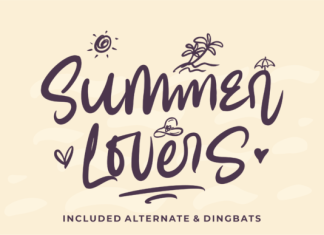 Summer Lovers Font