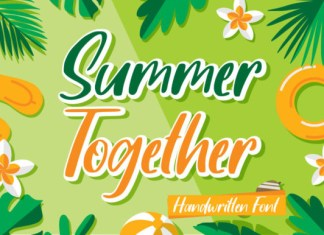 Summer Together Font
