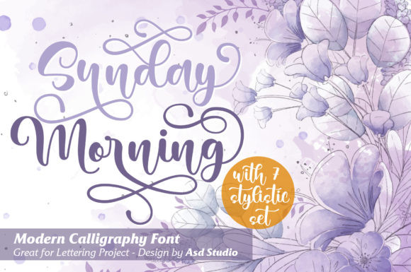 Sunday Morning Font