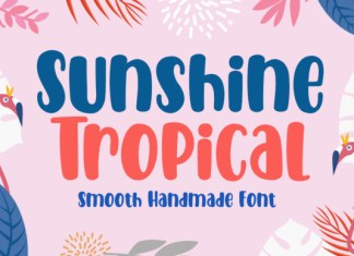 Sunshine Tropical Font