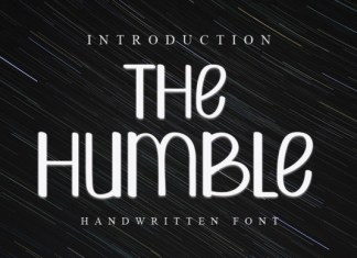 The Humble Font
