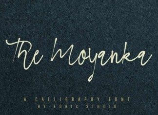 The Moyanka Font