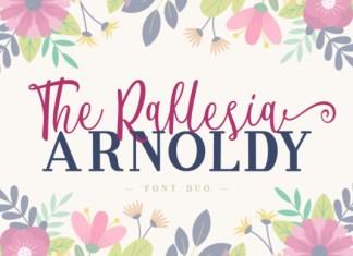 The Raflesia Arnoldy Font