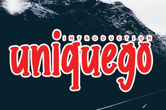 Uniquego Font