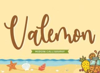 Valemon Font