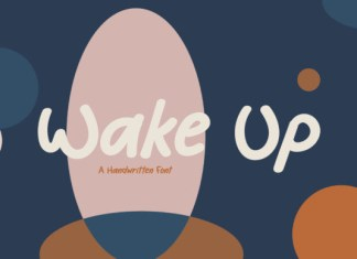 Wake Up Font