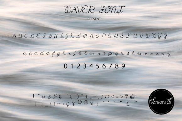 Waver Font