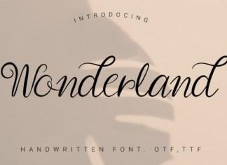 Wonderland Font