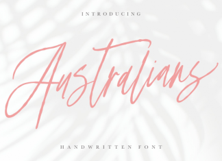 Australians Font