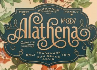 Alathena Font