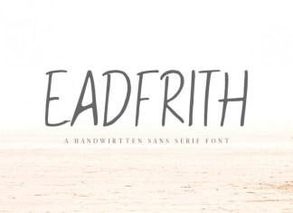Eadfrith Font
