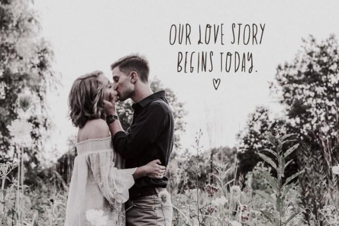 Love Story Font