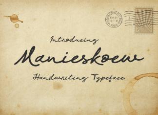 Manieskoew Font
