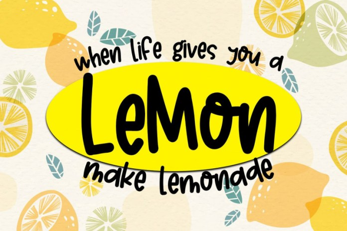 Lemon Crush Font