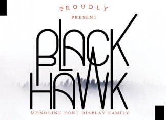 Black Hawk Font