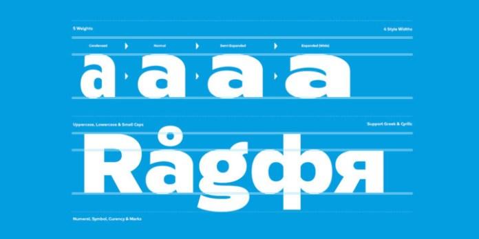 Radiate Font