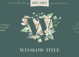 Winslow Title Font