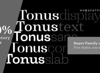 Tonus Font
