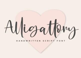 Alligattory Font
