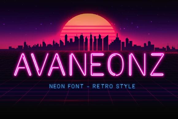 Avaneonz Font