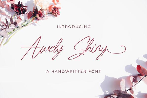 Awely Shiny Font