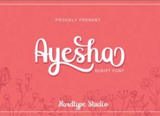 Ayesha Font