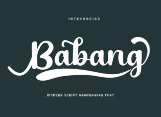 Babang Font