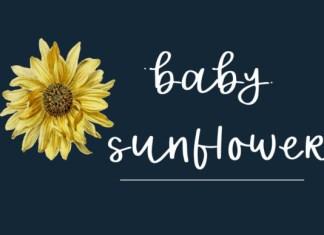 Baby Sunflower Font