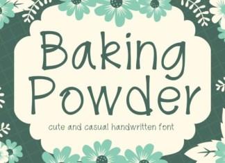 Baking Powder Font