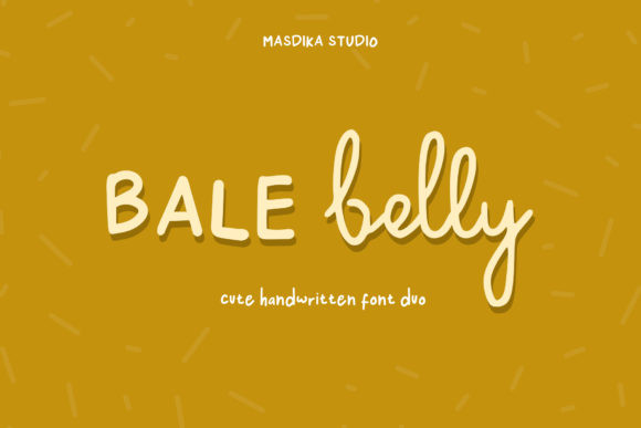 Bale Belly Font