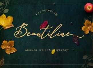Beautiline Font