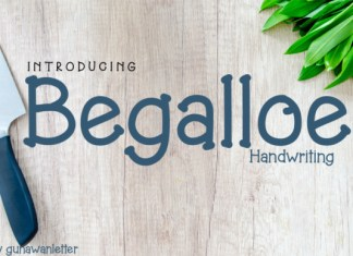 Begalloe Font