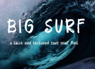 Big Surf Font