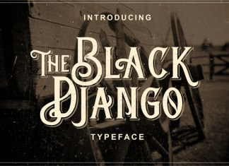 The Black Django Font