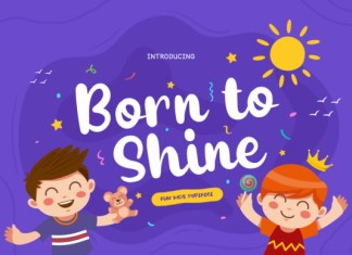 Born to Shine Font