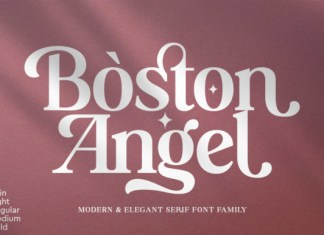 Boston Angel Font