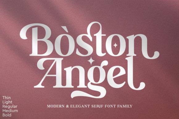 Boston Angel Font