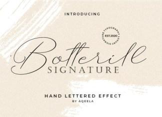 Botterill Font