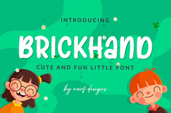 Brickhand Font