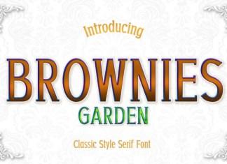 Brownies Garden Font