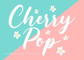 Cherry Pop Font