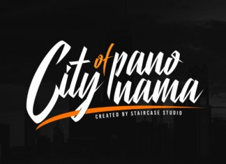 City of Panonama Font