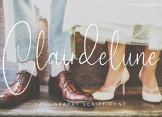 Clairdelune Font